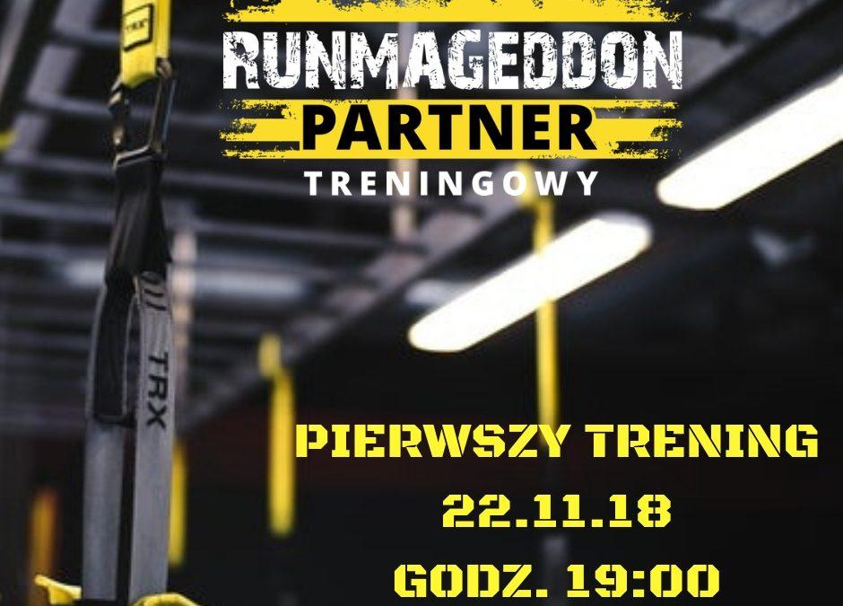 Oficjalnie zostaliśmy partnerem treningowym RUNMAGEDDON!