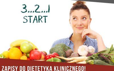 Dietetyk – zapisy!