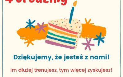 Świętujemy nasze 4 urodziny!